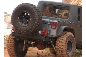 Rancho Performance RockGear Rear Bumper w/Tire Carrier (Part Number: )