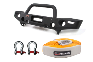 ARB Front Bumper w/Snatch Strap and Shackles Package (Part Number: )