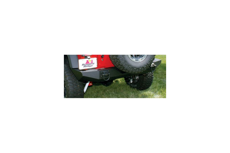 Rugged Ridge XHD Rear Bumper - JK