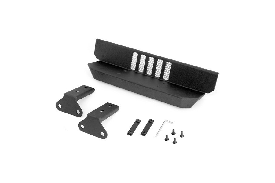 Rugged Ridge Alumunium HXD Rear Bumper Step  - JK