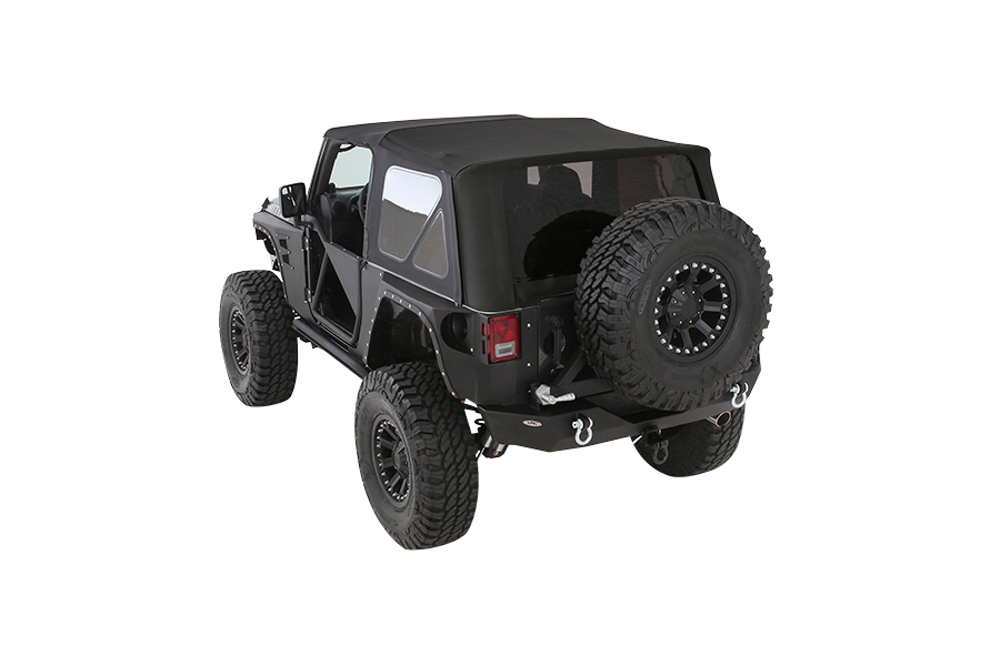 Smittybilt Premium Replacement Soft Top w/Tinted Windows Black Diamond (Part Number:9074235)