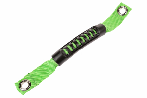 Rugged Ridge A-Pillar Grab Handle, Green - JK