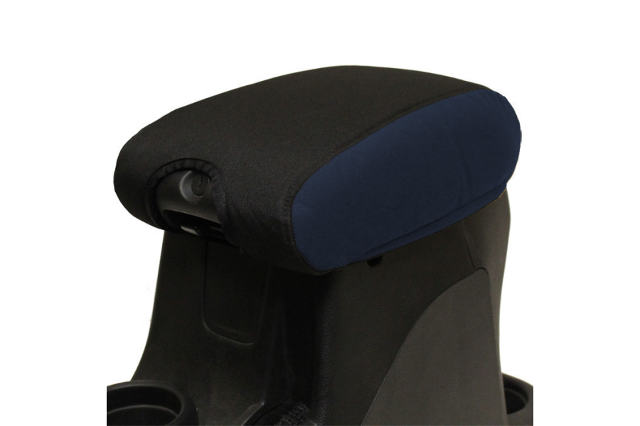 Bartact Padded Center Console Cover Black/Navy (Part Number:JKIA1115CCBT)