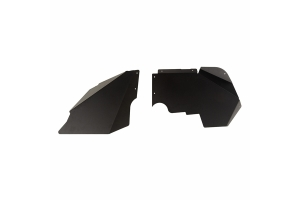 Rugged Ridge Fender Liners - Front, Black - JK