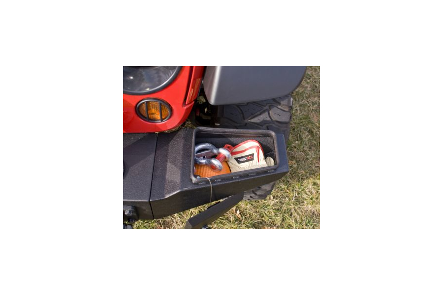 Rugged Ridge XHD Front Bumper Storage Ends (Part Number:11540.22)