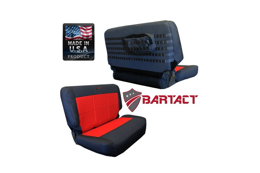 Bartact Rear Bench Seat Cover (Part Number:TJSC9702RBB)