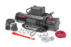 Rough Country 9500lbs PRO Series Winch w/ Synthetic Rope (Part Number: )