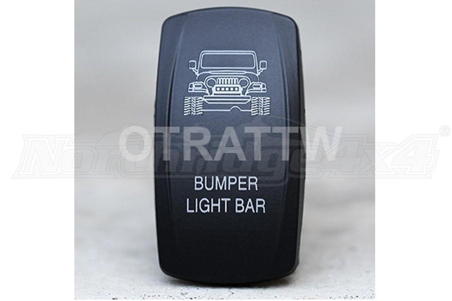 sPOD TJ Bumper Light Bar Rocker Switch Cover