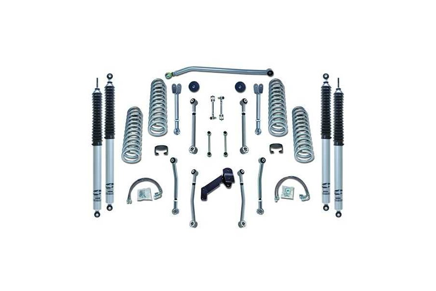 Rubicon Express Super Flex Lift Kit 3.5in w/Mono Tube Shocks (Part Number:RE7127M)