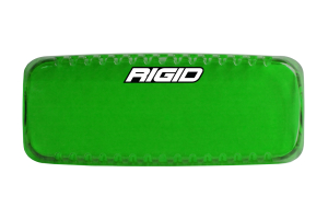 Rigid Industries SR-Q Series Light Cover, Green (Part Number: )