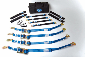 Mac's Pro Pack W/40in ThroughtheWheel Straps 6ft Direct Hook Rachet (Part Number: )