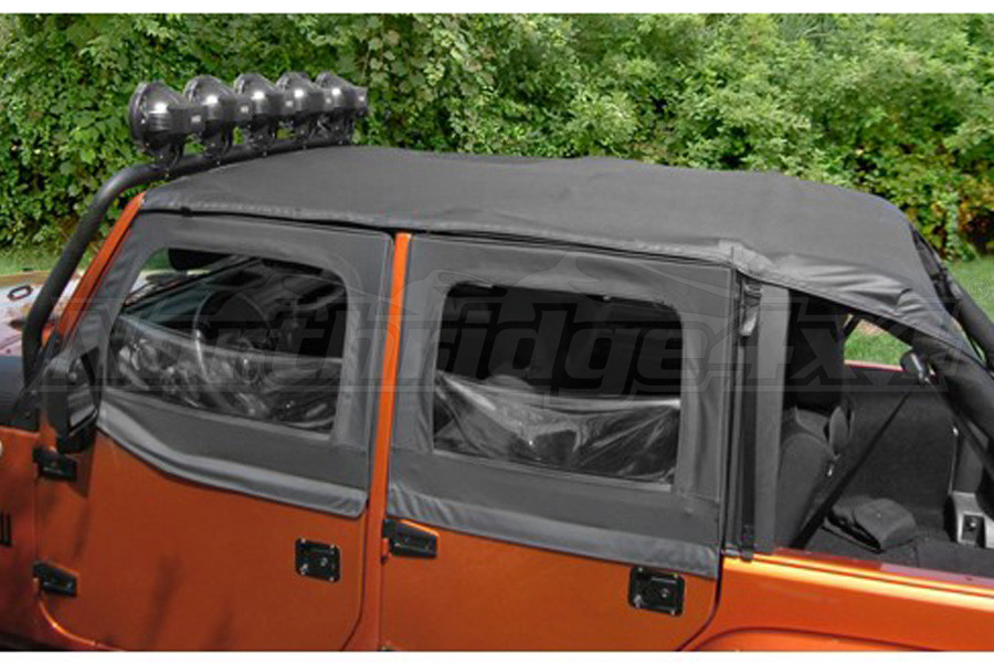 Rugged Ridge Pocket Island Topper Soft Top Black Diamond  (Part Number:13592.35)