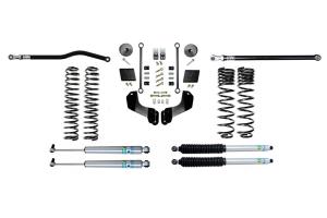 Evo Manufacturing 2.5in Enforcer Overland Stage 1 PLUS Lift Kit w/ Bilstein Shocks - JT Diesel