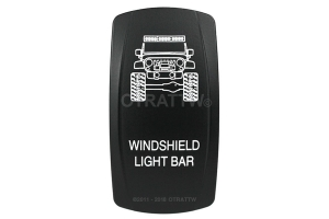 sPOD Windshield Light Bar Rocker Switch Cover