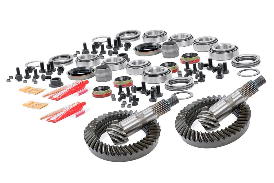 Rough Country 5.38 Ring and Pinion Set w/Install Kits (Part Number:414444538)