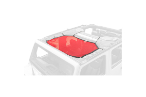 Rugged Ridge Eclipse Sun Shade, Front, Red ( Part Number: 13579.24)