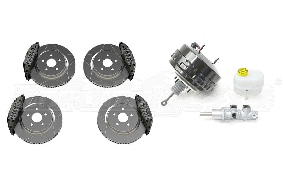 Teraflex Delta Brakes and Mopar Master Cylinder and Brake Booster Kit