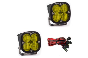 Baja Designs Squadron Pro Amber Wide Cornering LED Light, Pair (Part Number: )