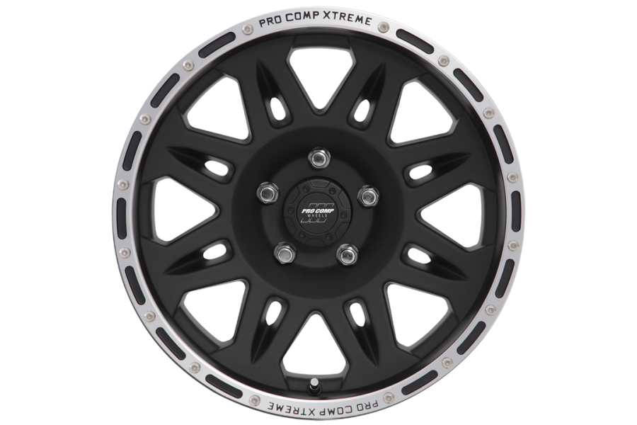 Pro Comp Series 7105 Wheel Cast Blast Finish 17x9 5x5 (Part Number:7105-7973)