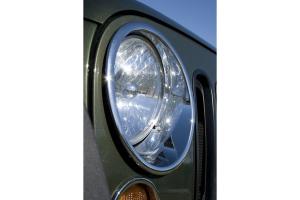 Rugged Ridge Chrome Headlight Bezel Set ( Part Number: 13311.20)