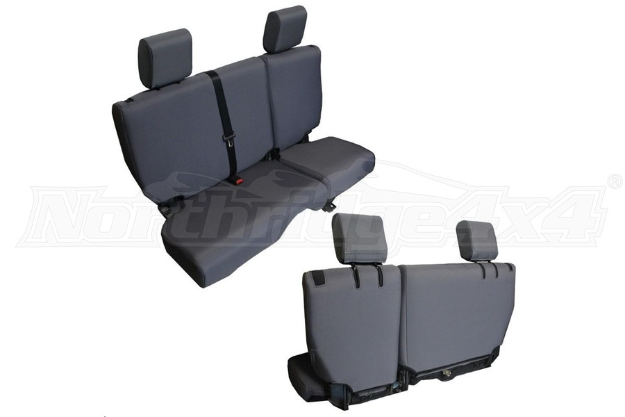 BARTACT Baseline Seat Cover Rear Split Bench Graphite - JK 4dr 2011-12