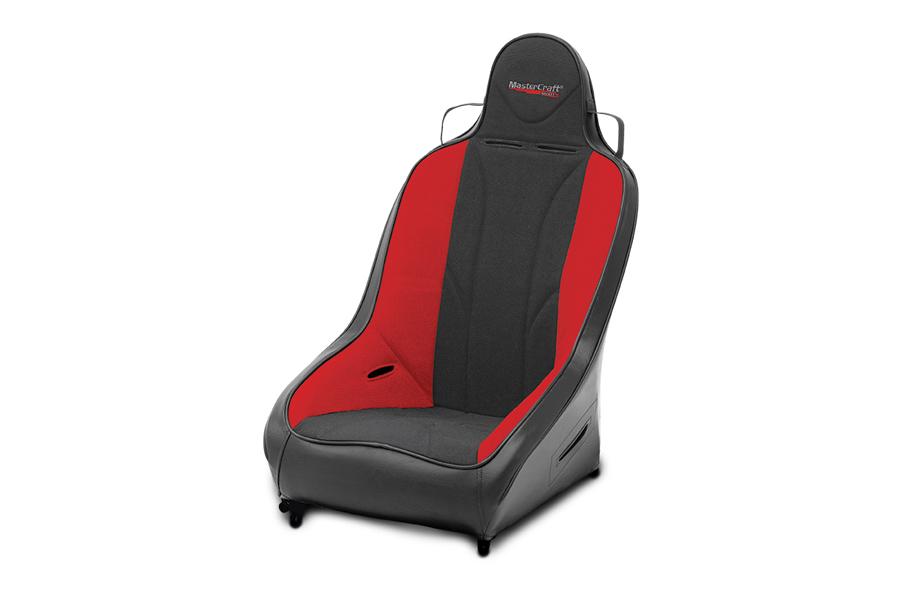 MasterCraft Pro4 Suspension Seat Smoke Red / Black (Part Number:564012)