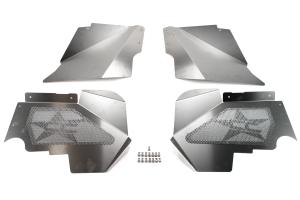 Crawler Conceptz Aluminum Inner Fender Kit w/ Logo Front ( Part Number: ULT-LN-001)