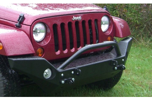 Rock Hard 4x4 Patriot Series Aluminum Full Width Front Bumper (Part Number: )