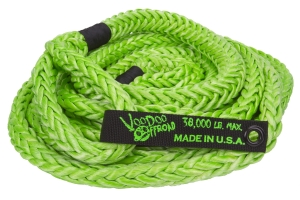 VooDoo Offroad Recovery Rope Green 7/8in x 30ft