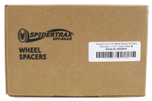Spidertrax Wheel Spacers 6x5.5in 1.25in - FJ Cruiser 2007-14