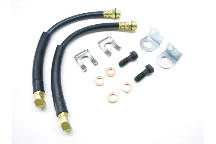 Teraflex Rear Disc Brake Flex Line Kit (Part Number:4355400)