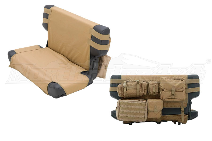 Smittybilt G.E.A.R. Rear Cargo Seat Cover Coyote Tan (Part Number:5660224)