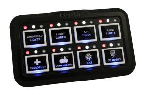 SPOD SE 8 Circuit System HD Panel JK Source Bracket - JK