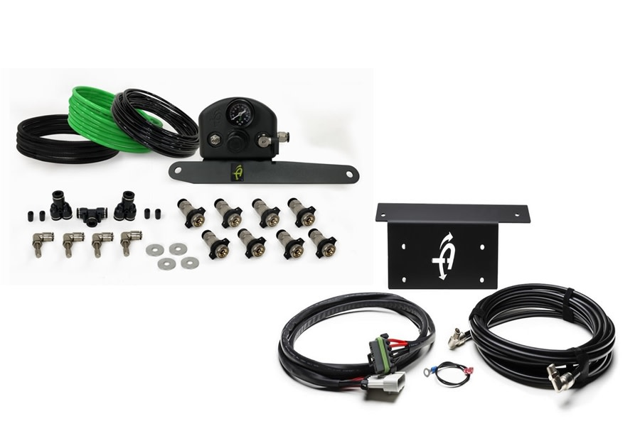 Up Down Air 4 Tire System Package - JL
