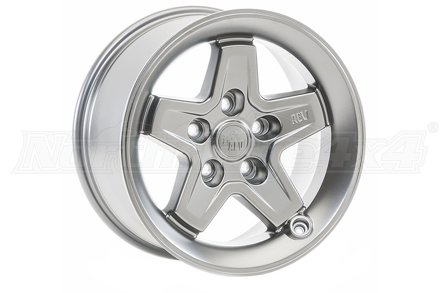 AEV Pintler Wheel Silver 17x8.5 5x5 (Part Number:20402014AB)