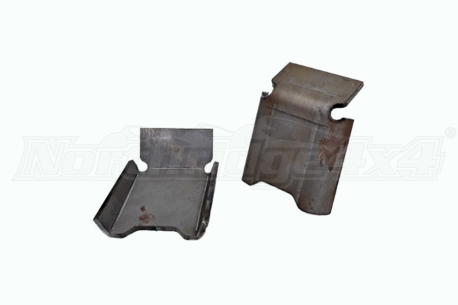 Rough Country Front Lower Control Arm Skid Plates - Pair (Part Number:792)