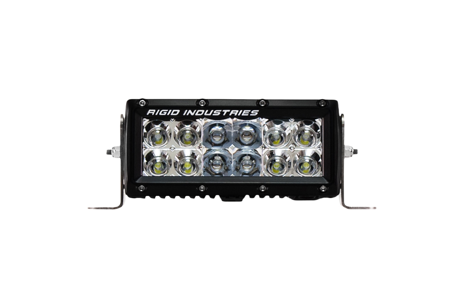 Rigid Industries E-Series 6in Amber Flood/Spot Combo (Part Number:106322)