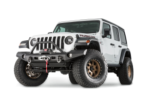 Warn Elite Series Full Width Front Bumper with Tube  (Part Number: )