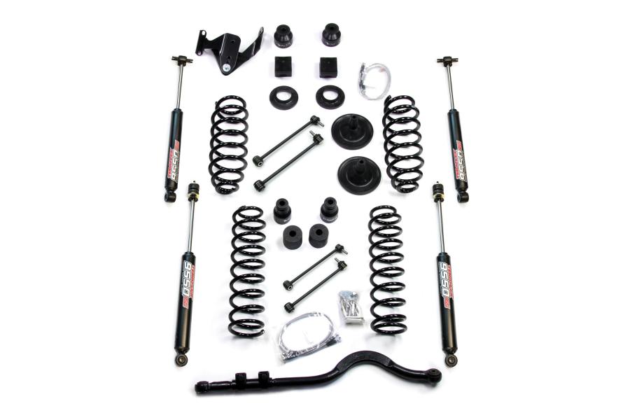 Teraflex 4in Lift Kit W/9550 Shocks & Trackbar (Part Number:1251400)