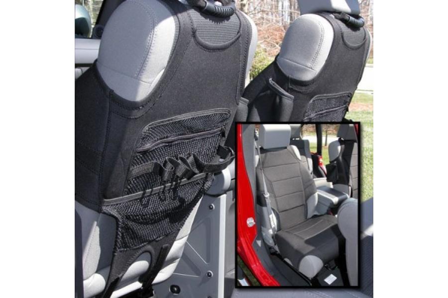 Rugged Ridge Neoprene Seat Vests, Black  (Part Number:13235.20)