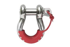 Daystar Pair Locking D-Ring Isolators, Red