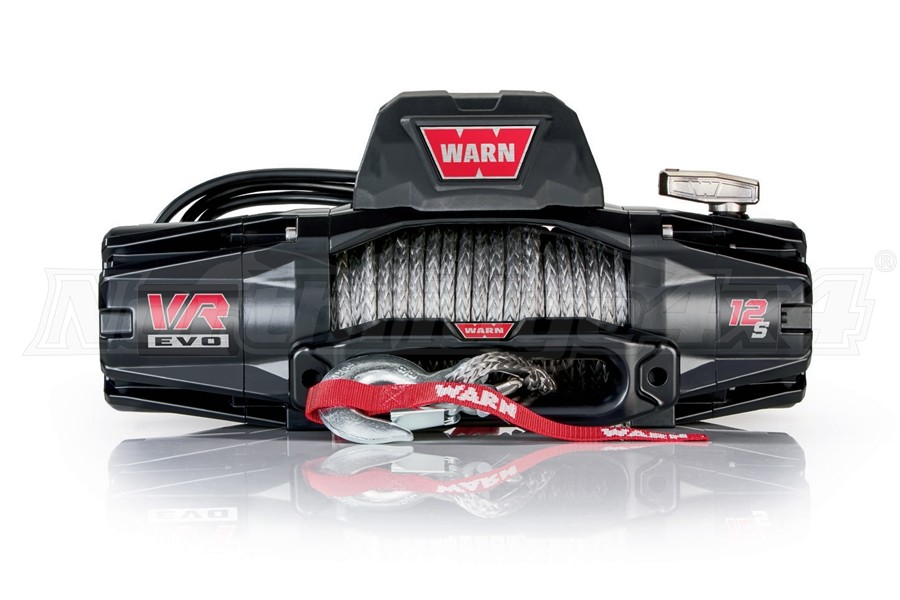 Warn VR EVO12-S Winch w/ Synthetic Rope (Part Number:103255)