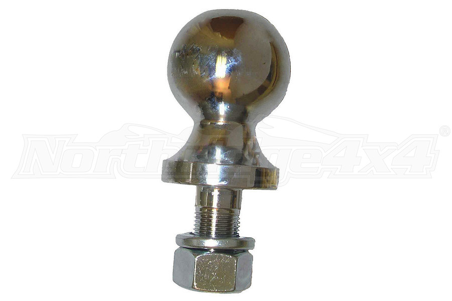 Rugged Ridge 2-Inch Trailer Hitch Ball Chrome (Part Number:11305.01)
