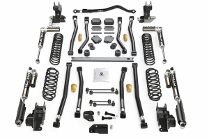 Teraflex Alpine CT4 4.5in Long Arm Lift Kit - w/Falcon SP2 3.1 Shocks - JL 2dr