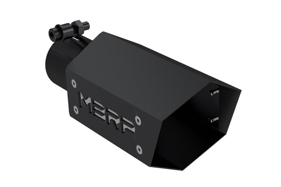 MBRP Black Series Universal Hex Exhaust Tip