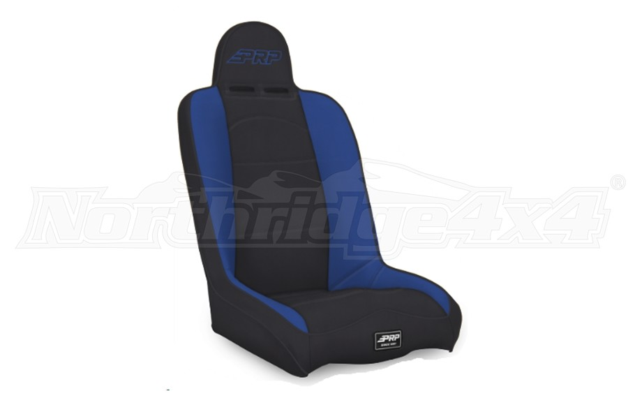 PRP Seats Daily Driver High Back Seat Black/Blue