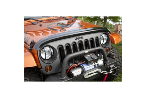 Rugged Ridge Wraparound Bug Deflector Smoke  ( Part Number: 11350.02)