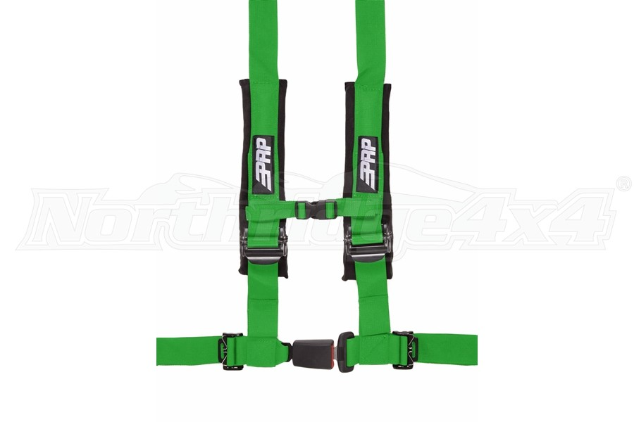 PRP 4.2 Point Harness - Green