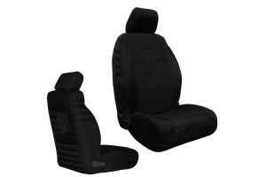 Bartact Tactical Series Front Seat Covers - Black, SRS-Compliant  - JK 2013+