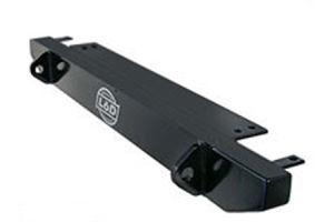 LOD Stubby Front Bumper Black Powder Coated (Part Number: )